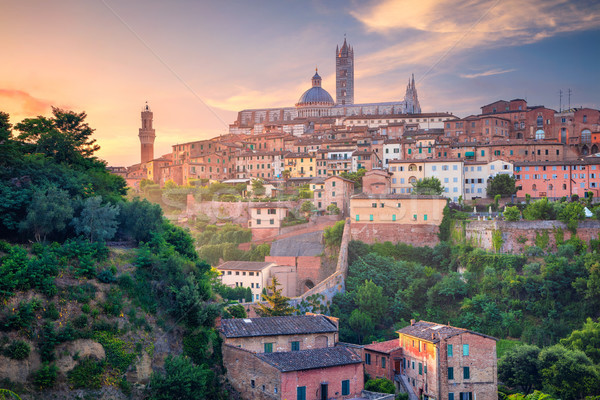 Siena, Italy. Stock photo © rudi1976