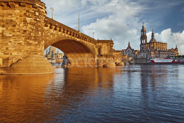 ドレスデン 画像 ドイツ 橋 ストックフォト © rudi1976