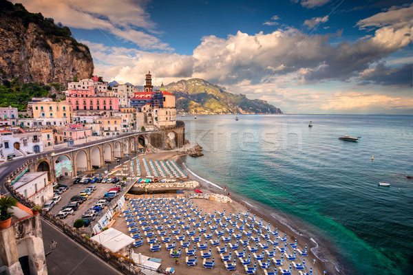 Famoso aldeia costa Itália Foto stock © rudi1976