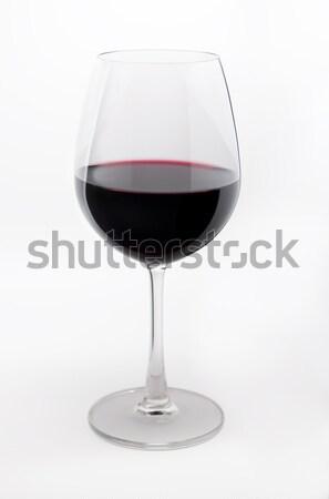 Cam parlak kırmızı alkol nesne Stok fotoğraf © rudi1976