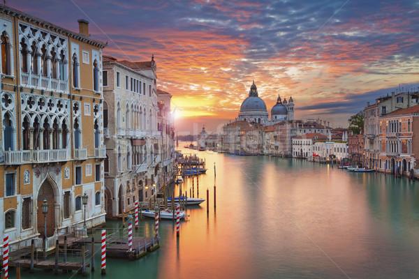 Venedik görüntü kanal Stok fotoğraf © rudi1976