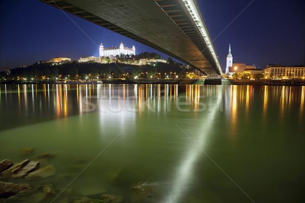 Bratislava Slovacia imagine oraş Imagine de stoc © rudi1976
