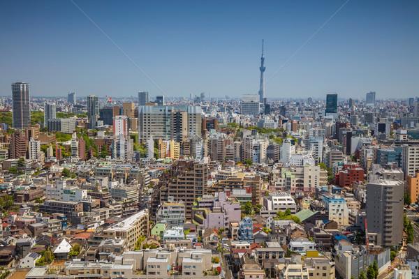 Cityscape imagem linha do horizonte cidade rua Foto stock © rudi1976