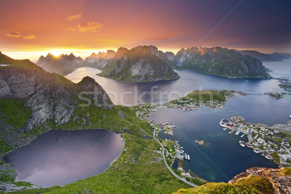 Lofoten Islands. Stock photo © rudi1976