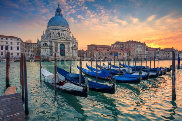 Veneza cityscape imagem canal céu Foto stock © rudi1976