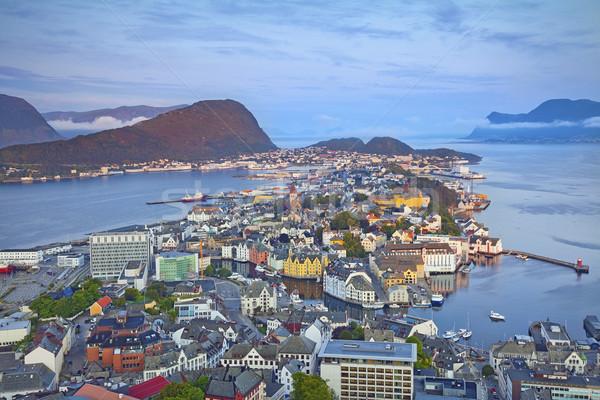 ノルウェー 画像 ノルウェーの 市 ストックフォト © rudi1976
