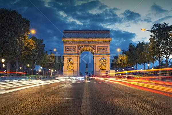 Arc de Triomphe. Stock photo © rudi1976