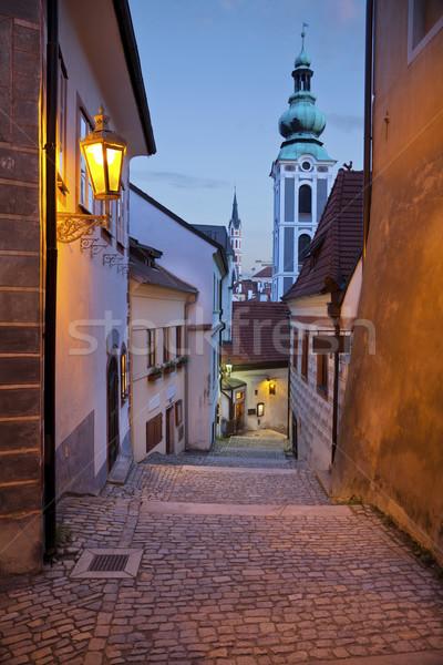 Csehország kép öreg cseh város Stock fotó © rudi1976