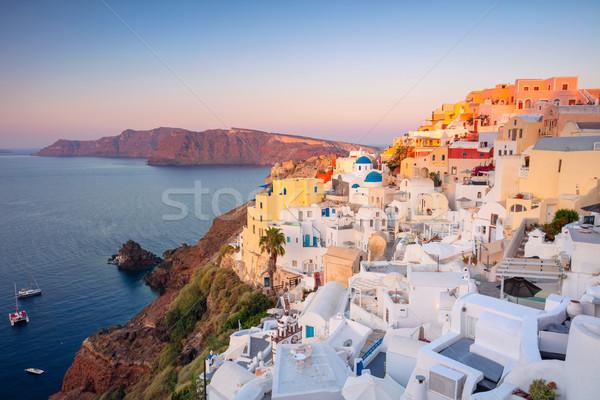Oia, Santorini. Stock photo © rudi1976