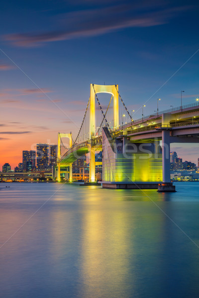 Rainbow Bridge, Tokyo. Stock photo © rudi1976