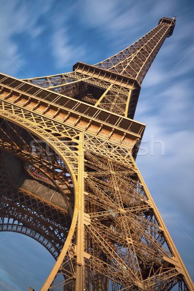 Eiffel-torony kép Párizs Franciaország Stock fotó © rudi1976