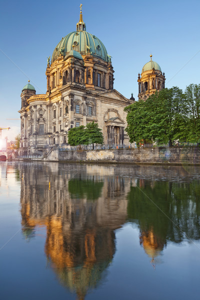 Berlín catedral imagen reflexión Foto stock © rudi1976