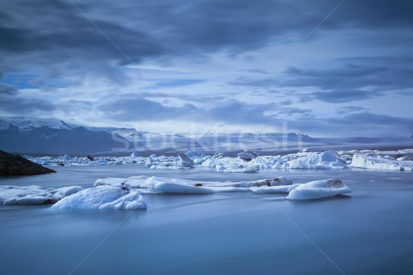 Jokulsarlon Glacier Lagoon. Stock photo © rudi1976