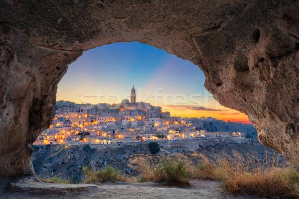 Itália cityscape imagem medieval cidade belo Foto stock © rudi1976