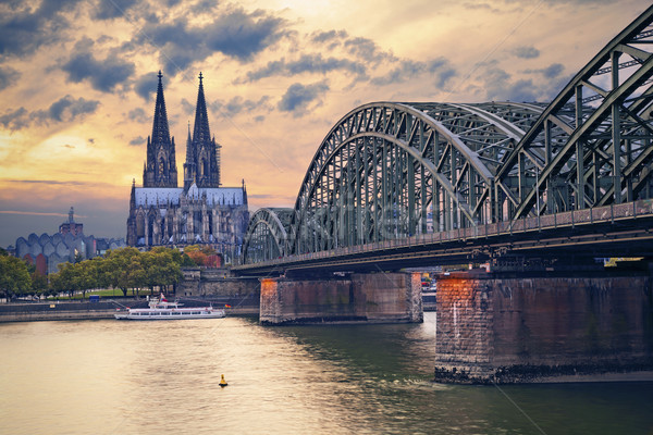Cologne, Germany. Stock photo © rudi1976
