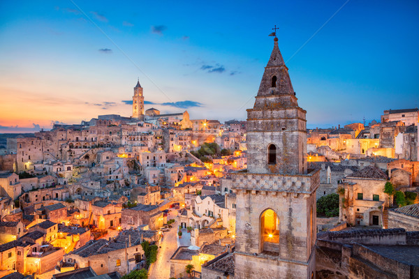 Италия Cityscape изображение средневековых город красивой Сток-фото © rudi1976