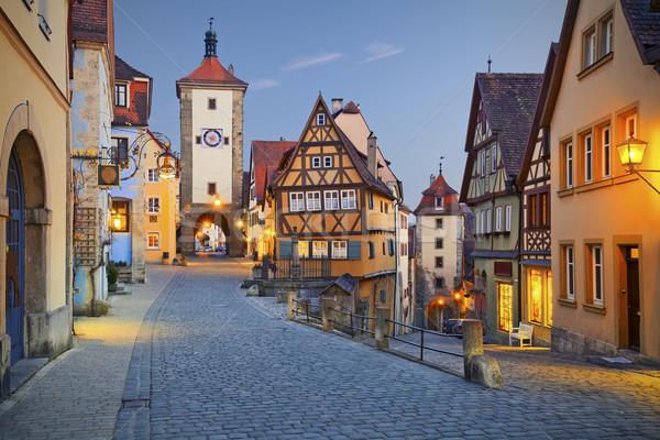 Rothenburg ob der Tauber Stock photo © rudi1976