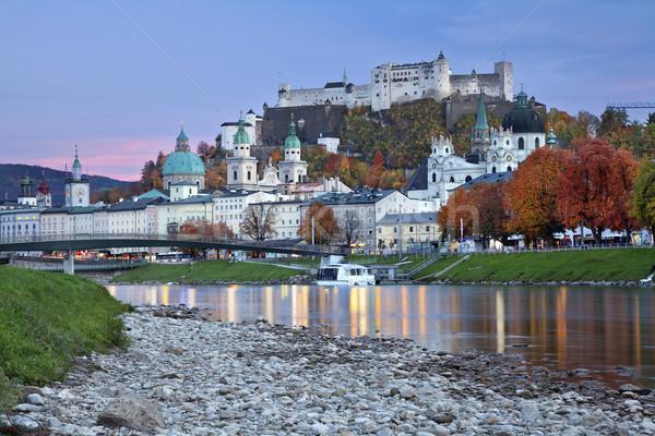 Avusturya görüntü tan mavi saat Stok fotoğraf © rudi1976