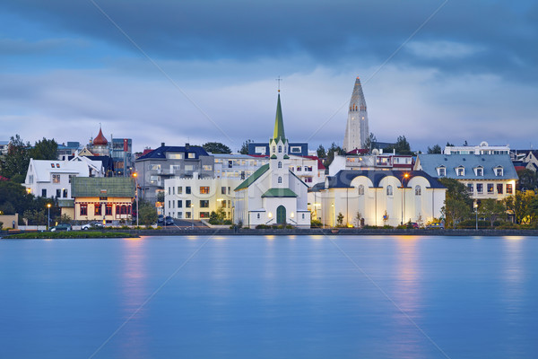 Reykjavik, Iceland. Stock photo © rudi1976