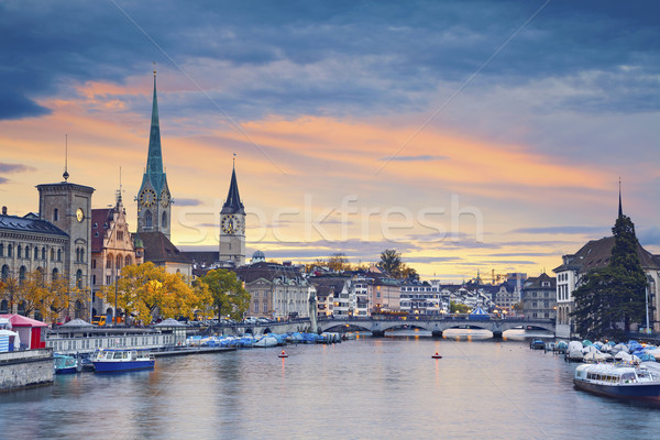 Zurich. Stock photo © rudi1976