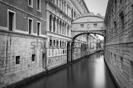 Híd kép híres Velence Olaszország Stock fotó © rudi1976