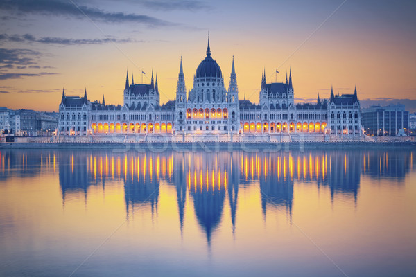 Budapest image hongrois parlement Photo stock © rudi1976