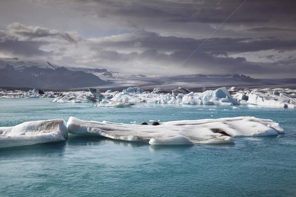 Islândia paisagem famoso geleira Foto stock © rudi1976