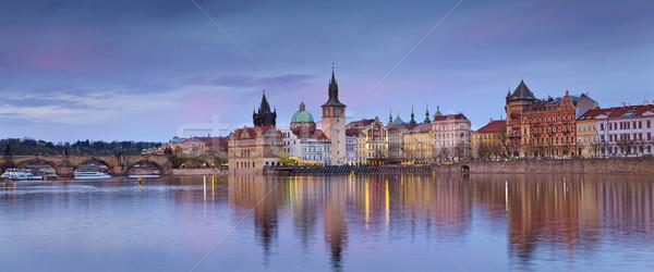Prague Panorama. Stock photo © rudi1976