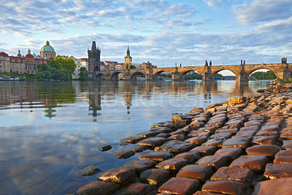 Praga imagem ponte Foto stock © rudi1976