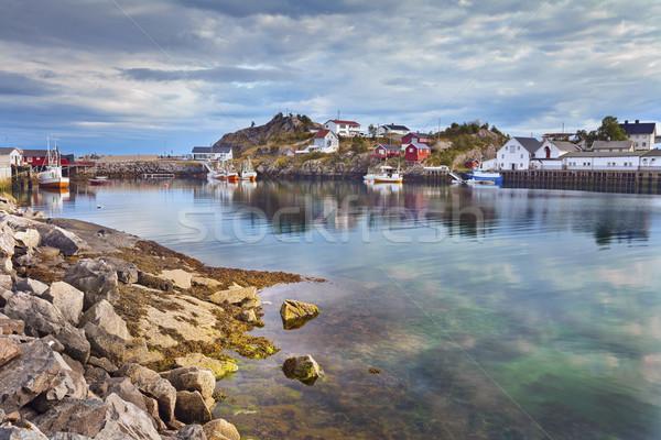 Village in Norway. Stock photo © rudi1976