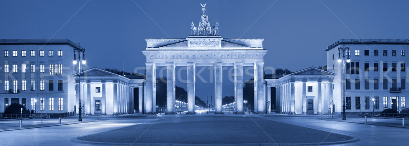 Brandenburgi kapu kép Berlin Németország Stock fotó © rudi1976