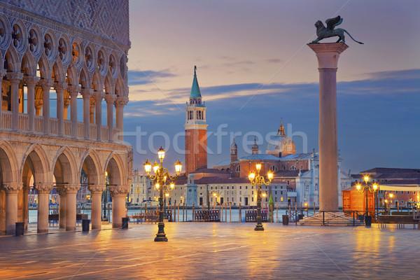 Veneza imagem praça Foto stock © rudi1976