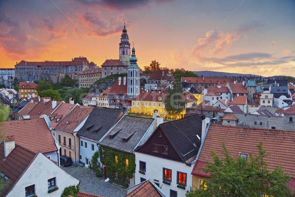 Cesky Kromlov, Czech Republic. Stock photo © rudi1976