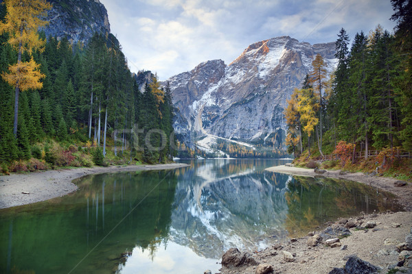Autumn in Alps. Stock photo © rudi1976