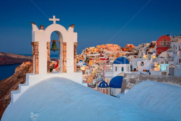 サントリーニ ギリシャ 画像 有名な 村 島 ストックフォト © rudi1976