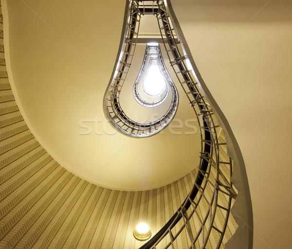 Resumen imagen escaleras forma bombilla Foto stock © rudi1976