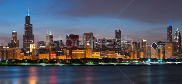 Chicago skyline. Stock photo © rudi1976
