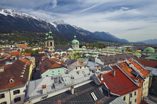 Catedral europeu alpes Foto stock © rudi1976