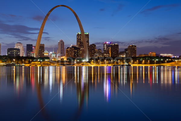 City of St. Louis skyline. Stock photo © rudi1976