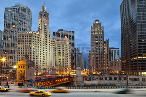 Chicago riverside. Stock photo © rudi1976