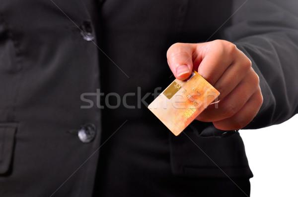 クレジットカード ビジネスパーソン ビジネス お金 ショッピング 企業 ストックフォト © ruigsantos