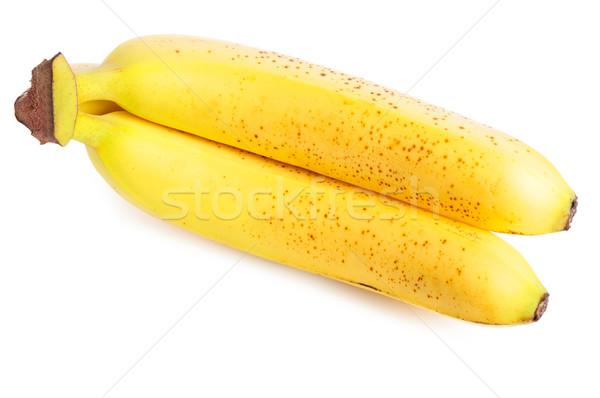 成熟した バナナ 黄色 白 ツリー ストックフォト © ruigsantos