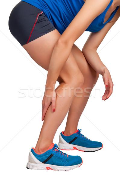 Pain in the Leg Stock photo © ruigsantos