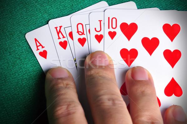 Winning Hand Stock photo © ruigsantos