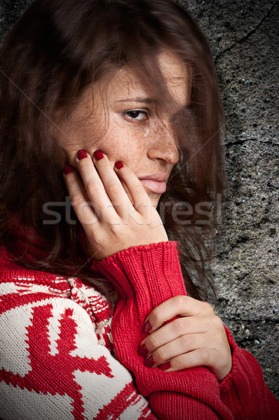 Sad Woman Stock photo © ruigsantos