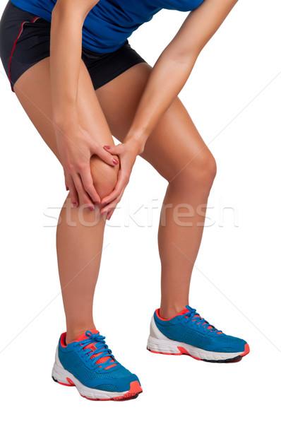 Knee Pain Stock photo © ruigsantos