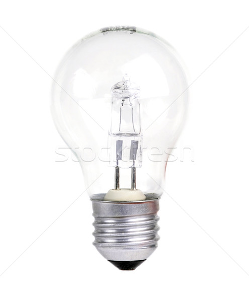 Villanykörte halogén fehér fény lámpa energia Stock fotó © ruigsantos