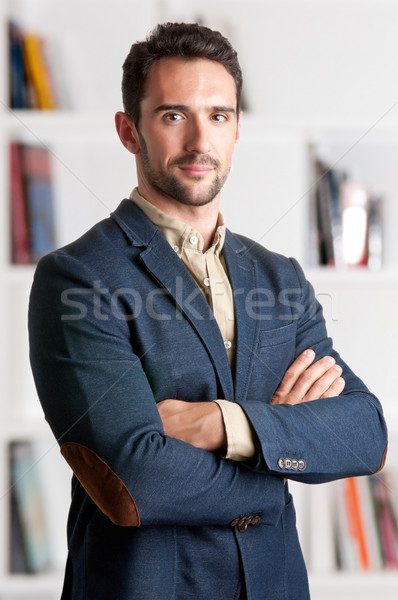Stock photo: Casual Business Man