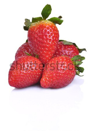 Pile of Strawberries Stock photo © ruigsantos