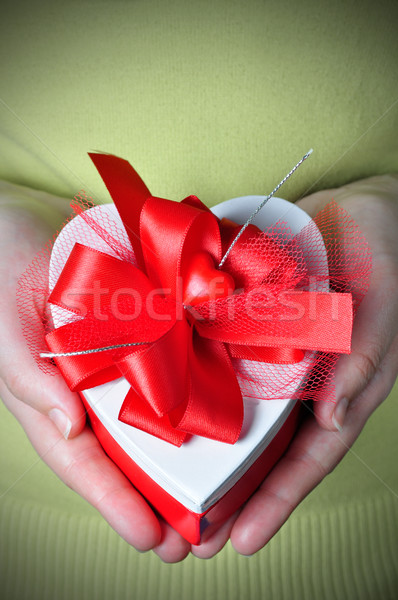 Heart in a Box Stock photo © ruigsantos